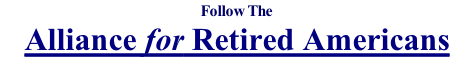 Follow The Alliance for Retired Americans